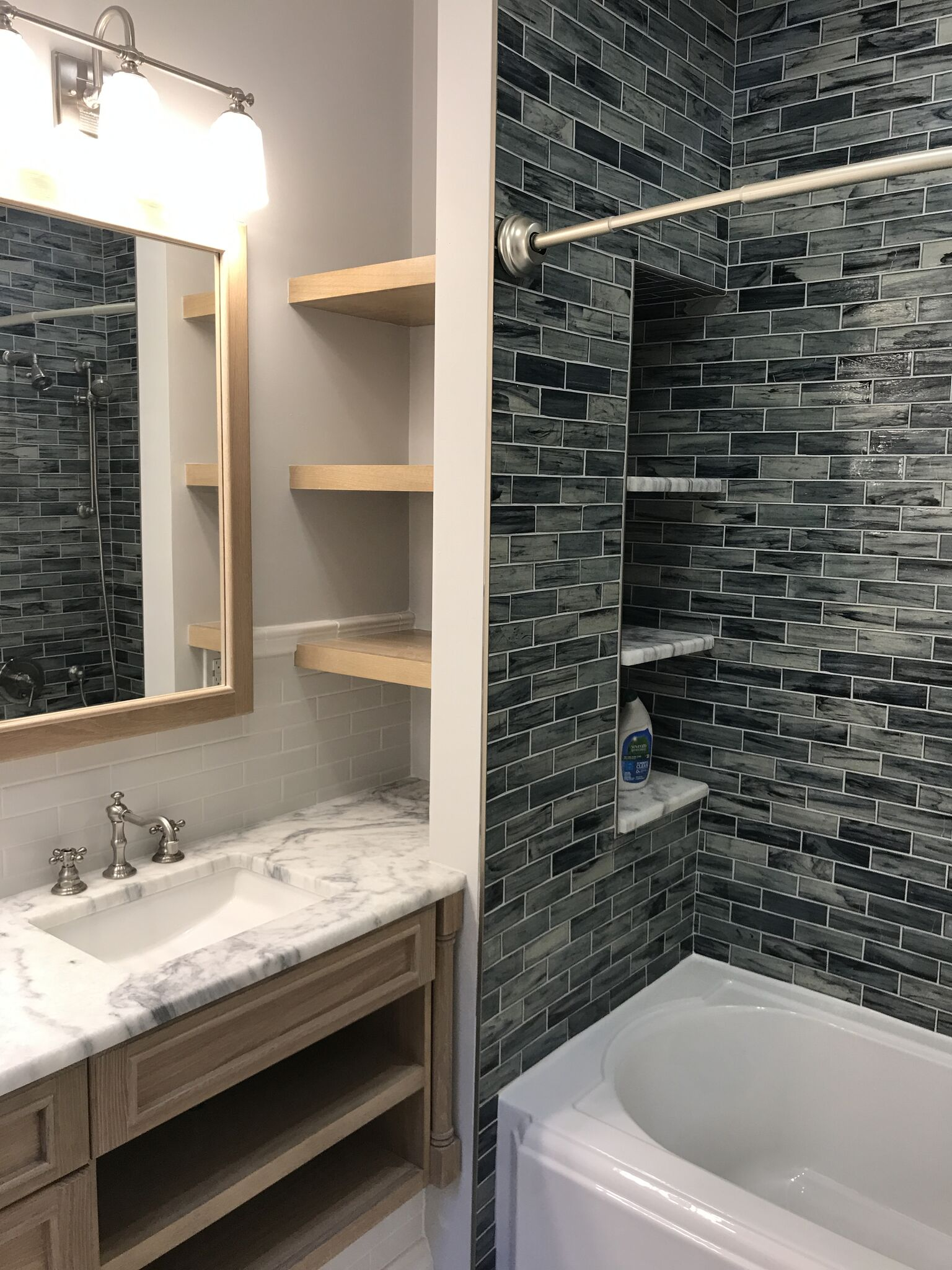 Create a bathroom fit for a magazine spread
